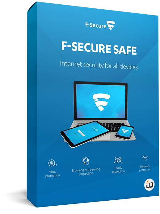 F-Secure SAFE - voor 3 apparaten