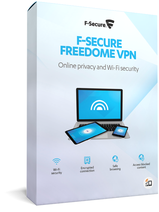 F-Secure Freedome VPN - voor 3 apparaten