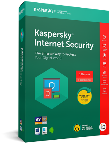 Kaspersky Internet Security - voor 5 apparaten