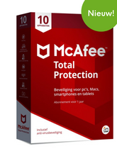 McAfee Total Protection & Safe Family - 10 apparaten