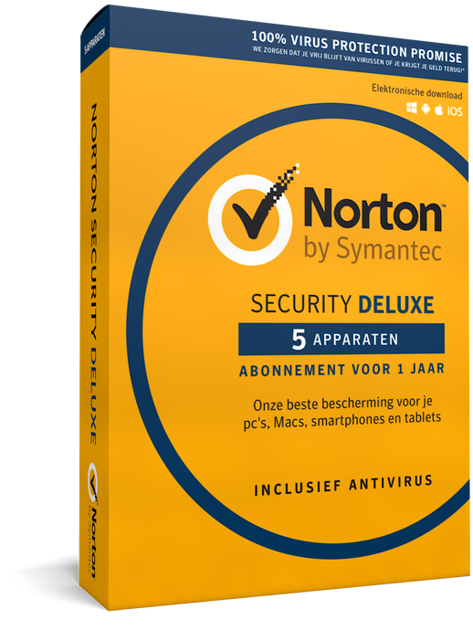 Norton Security Deluxe - 5 apparaten