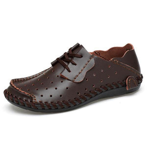 Leather Sandals Driving Loafer Shoes