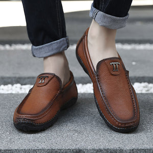 Bottom Sleeve Foot Low Help Men's Casual Shoes