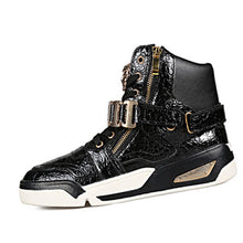 Seams Metal Zipper Men's Boots