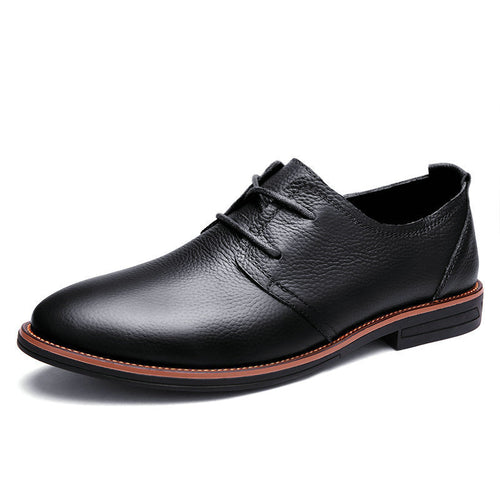 Men's Leather Lacing Business Shoes
