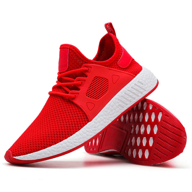 Weaving Fly Mesh Breathable Trainers Sneakers