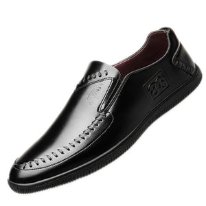 Soft Bottom Round Toe Breathable Men's Loafers