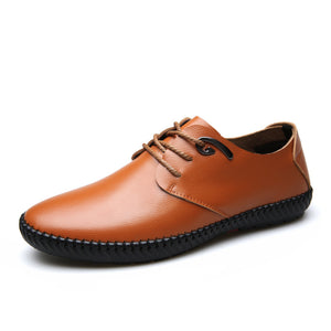 Real Leather  British Casual Shoes