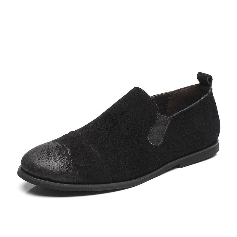 Velour Leather  Men's Casual Shoes