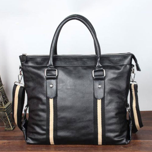 Dark Bag Waterproof Glossy Men's Top Handles