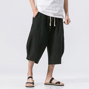 Loose Drawstring Casual Shorts
