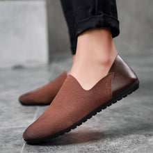 Frosted Suede Driving Loafer