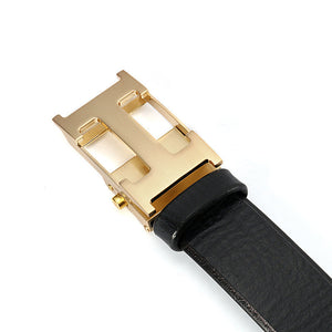 Automatic Buckle Business Plain Men's Belts