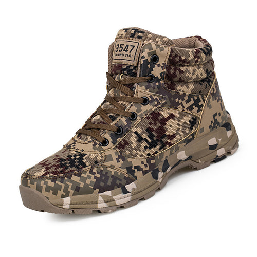 Canvas Military Cotton Warm Men's Boots
