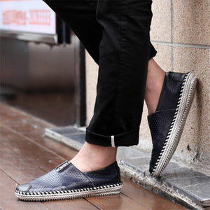 Men's Leather Casual Loafers