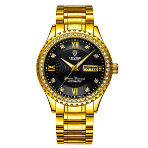 Mechanical Leisure Automatic  Diamond Men's Watches