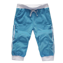 Overknee Slim Fit Sports Cotton Shorts