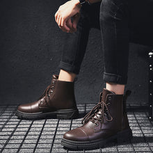 Anti-Slip Comfortable Warm Men's Leather Boots