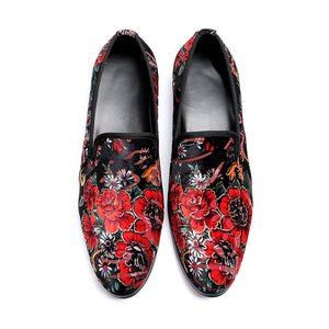Print Vintage Increase Men's Oxfords
