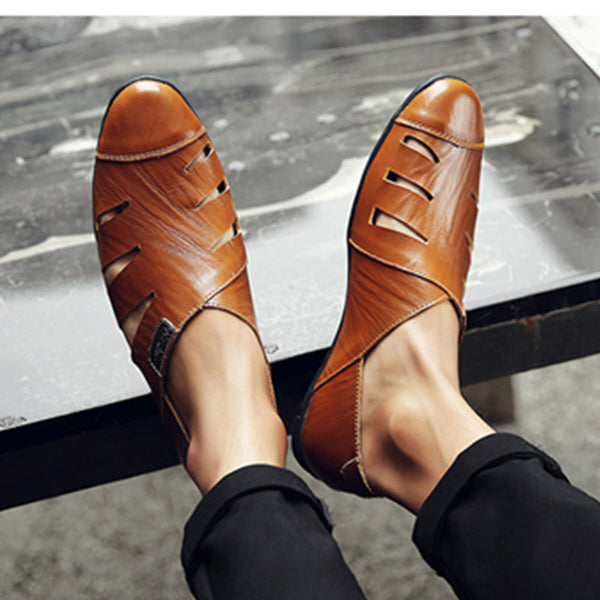 Men's Flats  Patent Leather  Classic Oxford Fashion  Shoes
