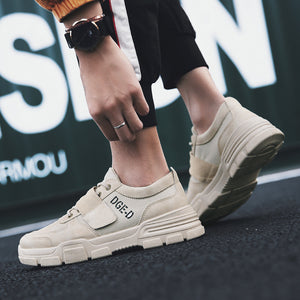 Breathable Wear Resistant Thick Bottom Men's Sneakers
