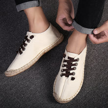 Straw Canvas Casual shoes