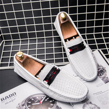 Continuous Splicing Men's Casual Shoes