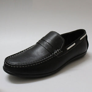 Soft Bottom Seams Plain Men's Loafers