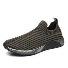 Men's Stripe Breathable Casual Sports Shoes