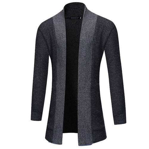 Brief Casual Zip-up Comfortable Men's Sweater