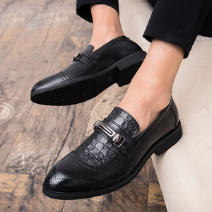 Breathable Increase Slip On Men's Oxfords