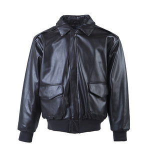 Loose Cold Proof Rock PU Men's Leather Coat