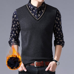 Comfortable Elasticity Cotton Blends Men's Vest Jacket