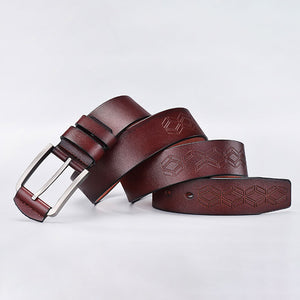 Multi Purpose  Buckle  Geometric Men's Belts