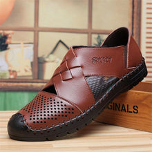Men's Casual Breathable Hollow Shoes