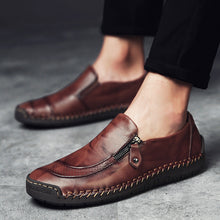 British Round Head Men's Casual Shoes