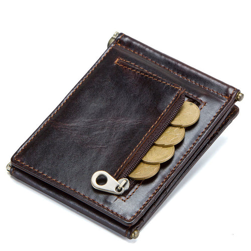 Antimagnetic Retro Change Position Men's Wallets