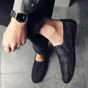 Antislip Wear Resistant Rubber Men's Loafers
