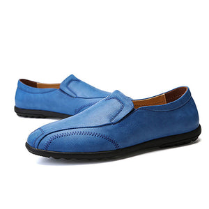 Breathable Wear Resistant Plain Men's Loafers