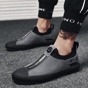 Breathable Wear Resistant Slip On Men's Casual Shoes