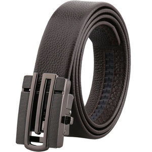 Business Cow Leather  Automatic Buckle Men's Belts