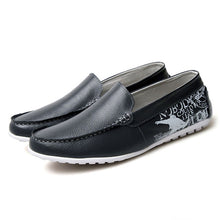 Breathable Comfortable Print Men's Loafers