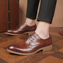 Brock Pointed Toe Leather Formal Shoes
