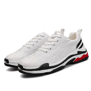 Breathable Lightweight Solid Color Men's Sneakers