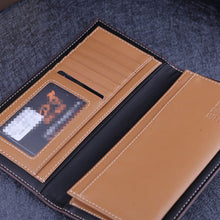 Vintage Long Section Multi-card Position Men's Wallets