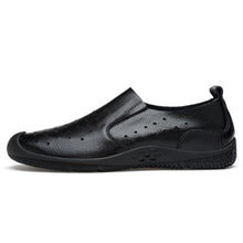 Leather Breathable Casual Loafer