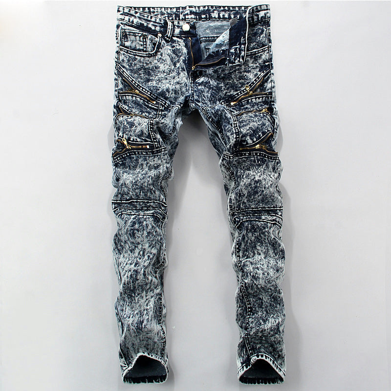 Cigarette Low Waist Jeans