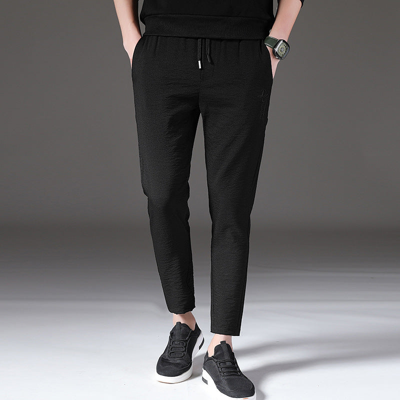 Casual Ankle Banded Pants