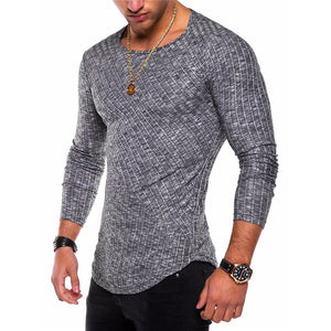 Round Neck Comfortable Punk Men's Sweater