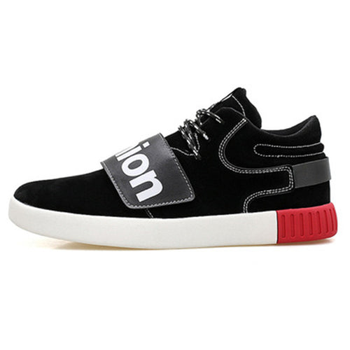 Increase Flat Velcro Men's Casual Shoes